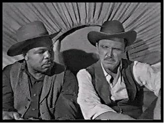 Archie Moore and Robert Lansing