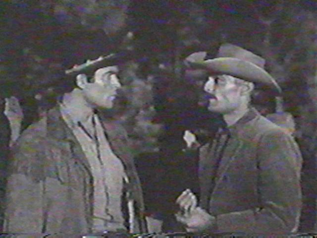 Clint Walker and John Russell