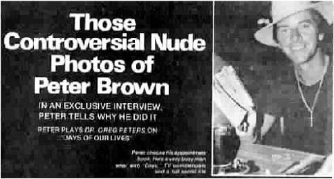 Confirm. peter brown nude amusing