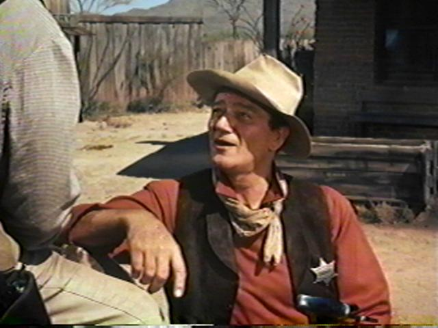 John Wayne as John T. Chance
